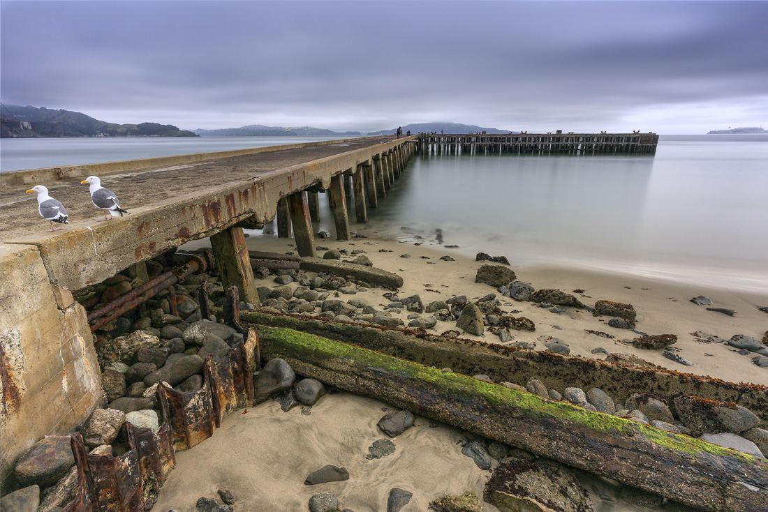Pier at Crissy Field - final composite